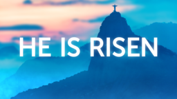 He is Risen: Rio  PowerPoint Photoshop image 1