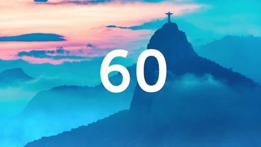He is Risen: Rio - Countdown 1 min