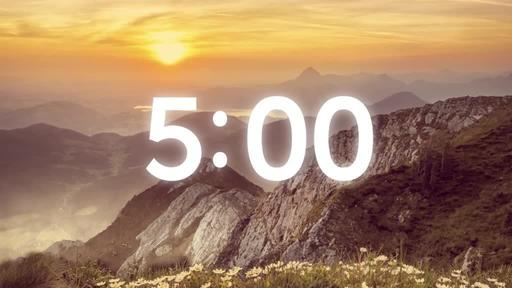 He is Risen: Mountains - Countdown 5 min