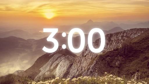 He is Risen: Mountains - Countdown 3 min