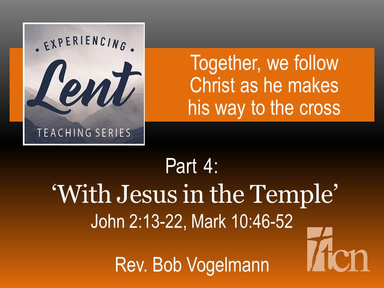 """Experiencing Lent / """"The Hour"""""""