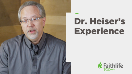 Dr. Heiser's Providential Experience