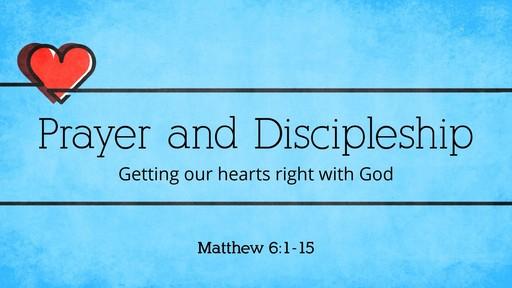 God's health plan:  Prayer and Discipleship