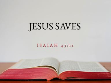 03 18 2018 Jesus Saves