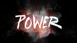 You Will Receive Power go in 16x9 PowerPoint Photoshop image