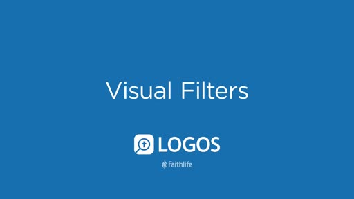 Visual Filters