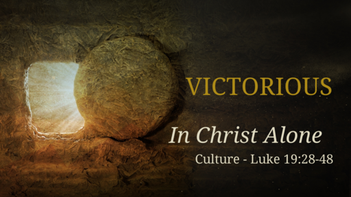 Victorious Over Culture