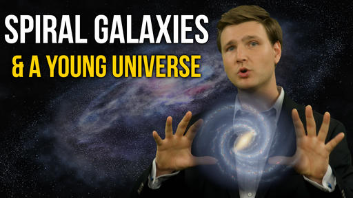Spiral Galaxies And A Young Universe