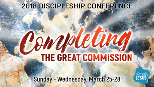 Discipleship Conference Pre-Series