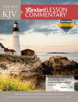 KJV Standard Lesson Commentary, 2018-2019