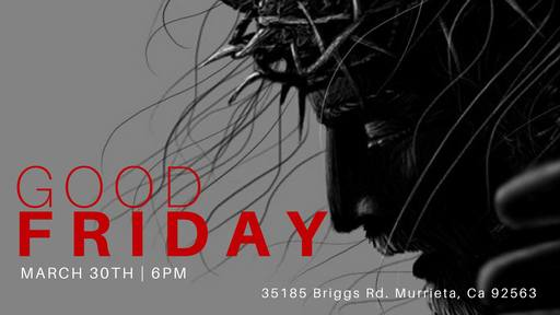 Good Friday Service | March 30, 2018