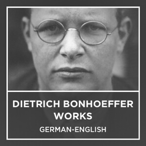 Bonhoeffer Works Cover