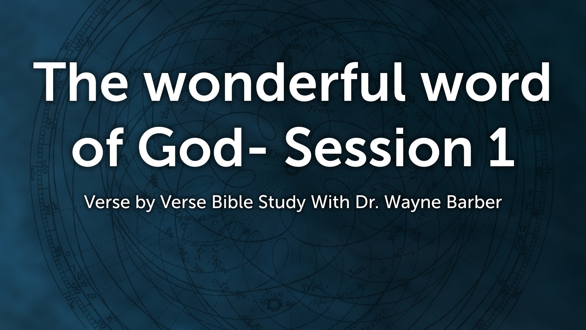 John ankerberg show faithlife the wonderful word of god session 1 fandeluxe Image collections