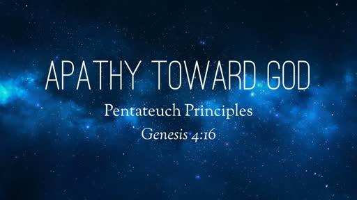 Apathy Toward God