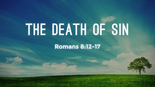 The Death of Sin - How Do We Walk According to the Spirit?  (April 8, 2018)