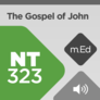 Mobile Ed: NT323 Book Study: The Gospel of John (audio)