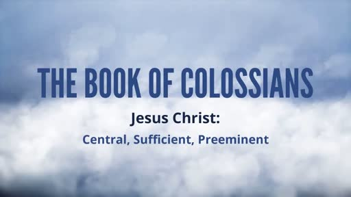 The Book of Colossians
