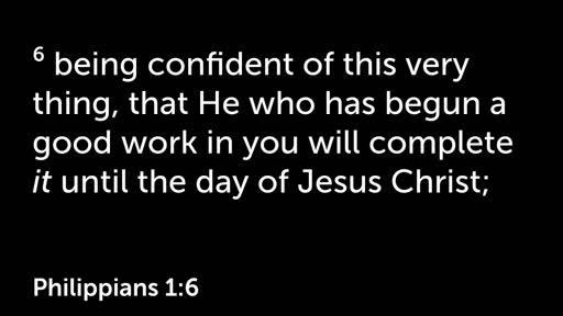 Faithful to Perfect - Philippians 1:6