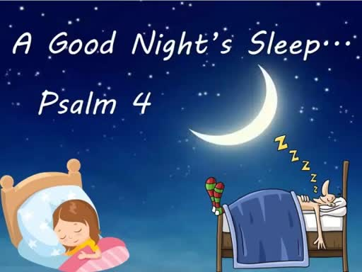 "'A Good Night's Sleep"" Sunday, April 15, 2018 - 9 AM"