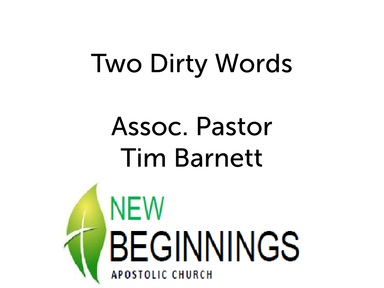 Two Dirty Words Sunday 4/15