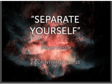 April 15, 2018 - Separate Yourself