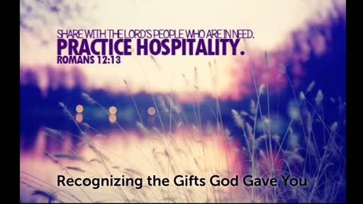 Hospitality and Encouragement