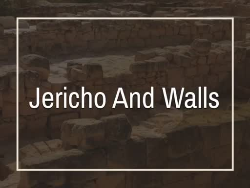 Jericho And Walls
