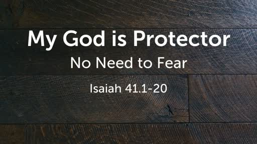 My God is Protector