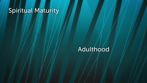 Spiritual Maturity: Adulthood