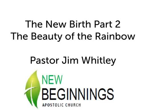 The Beauty of the Rainbow Wed 4-18
