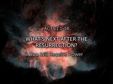 What's Next After the Resurrection?