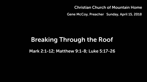 """Breaking Through the Roof"
