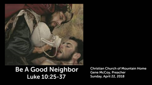 Be a Good Neighbor - Engagine the Lost