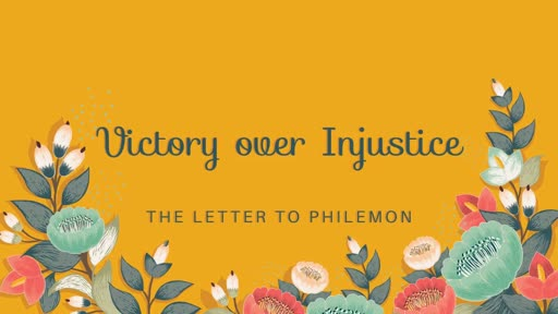 Victory over Injustice - 04.22.18 AM