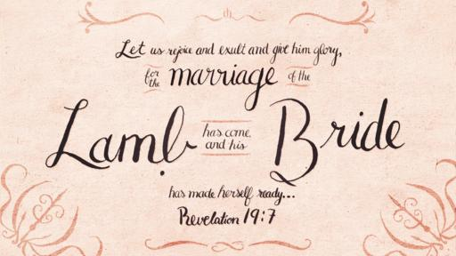Revelation 19:7 verse of the day image