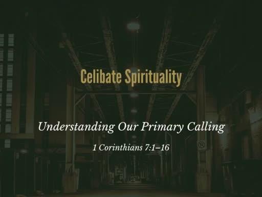 1 Corinthians 7:1-16
