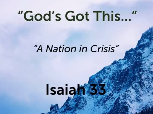 God's Got This...