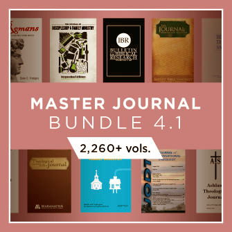 Master Journal Bundle 4.1 (2,260+ vols.)