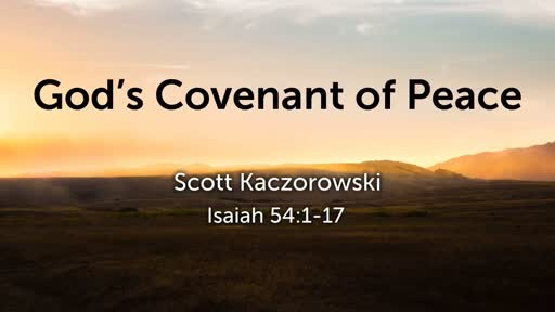 God's Covenant of Peace