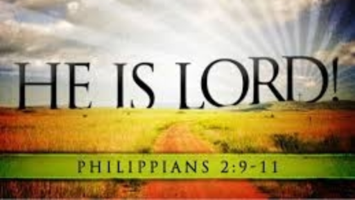 He is the Lord