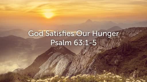 Psalm 63: 1-5