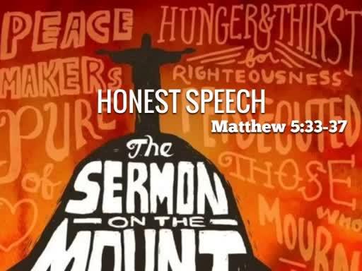 Honest Speech
