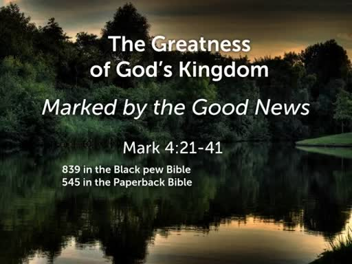 The Greatness of God's Kingdom