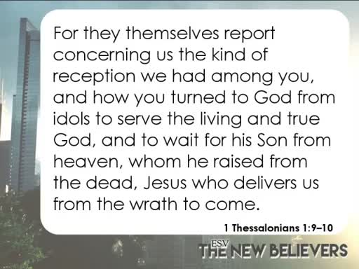 The New Believers  (4/29/18)