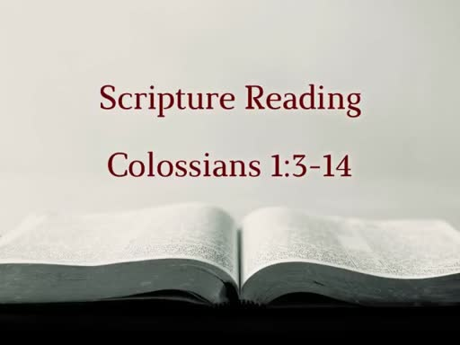 A Pastor's Joy - Philippians 1:3-8