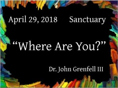 April 29, 2018 - Sanctuary