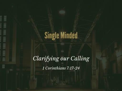 1 Corinthians 7:17-24