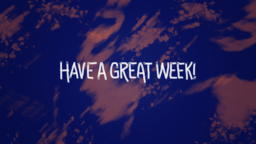 Romans have a great week! 16x9 PowerPoint Photoshop image