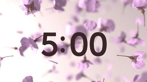 Sakura Spring - Countdown 5 min