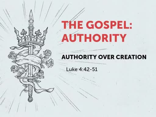 Authority Over Creation